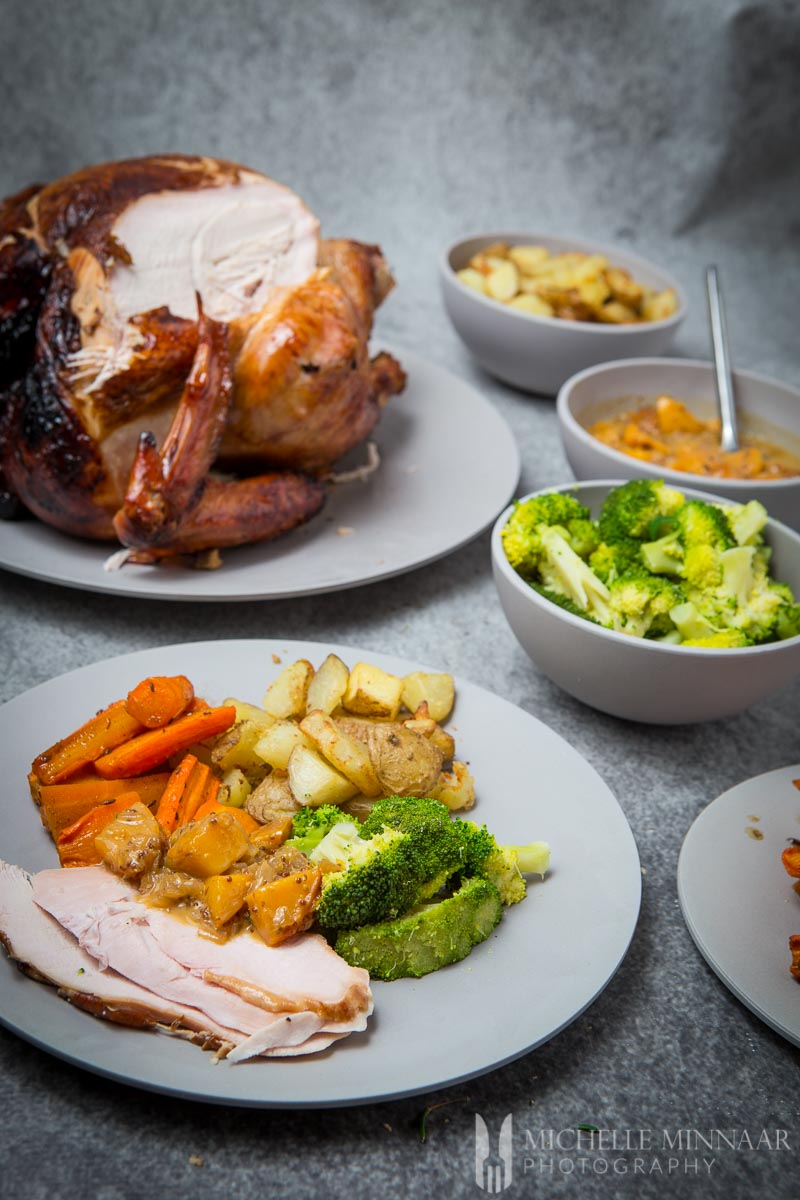 Turkey Dinner Xmas