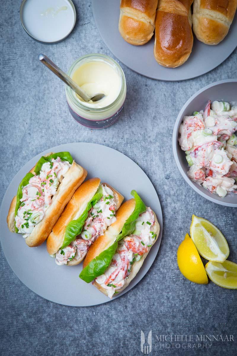 Lobster Roll American