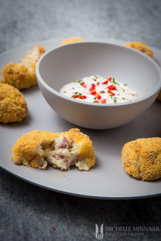 Parmesan Croquettes Parma Ham