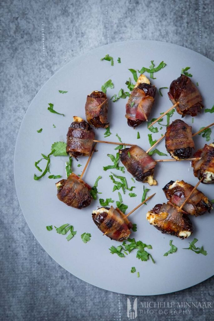 Cream Cheese Bacon Wrapped Dates