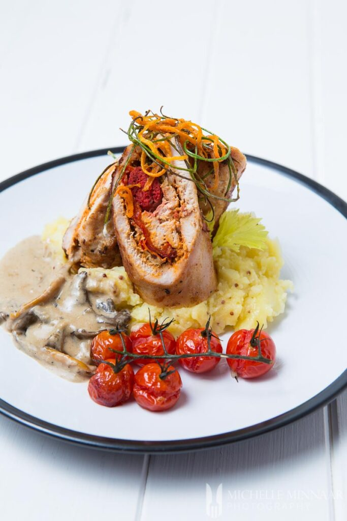 Chicken, Vegetables and Potato Mash