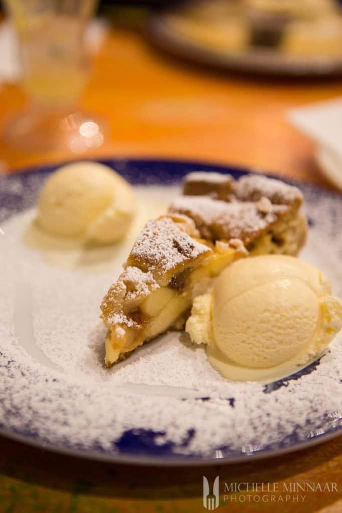 Dessert at My Old Dutch