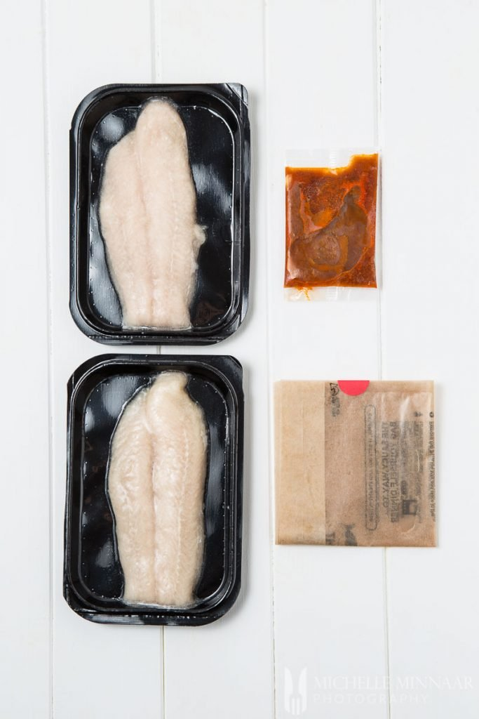 Frozen Basa Fillets Sauce