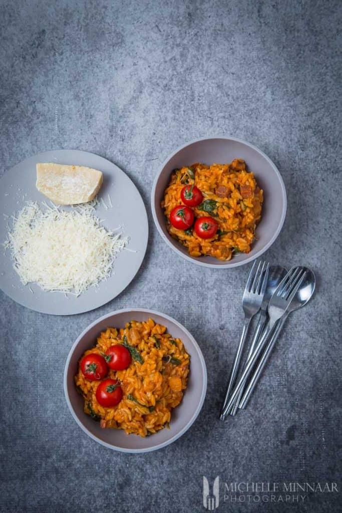 Parmesan Italian Meal
