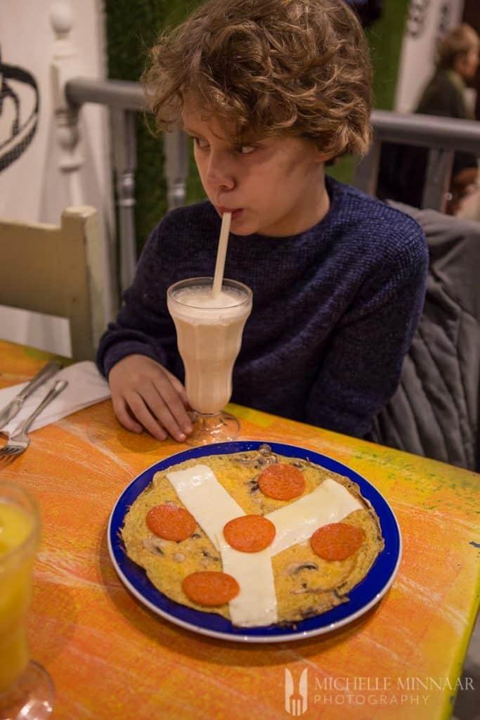 Pancakes and Milkshakes