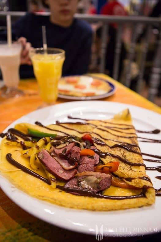 Pancake Main Course
