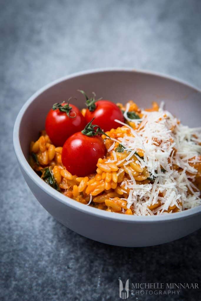 Pasta Tomato Ham