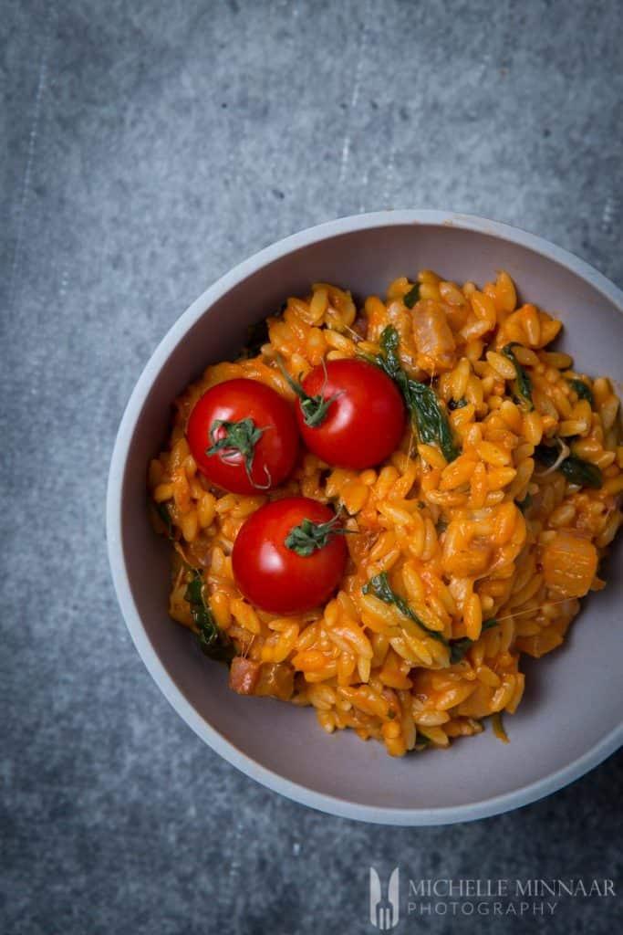 Recipe Tomato Orzo