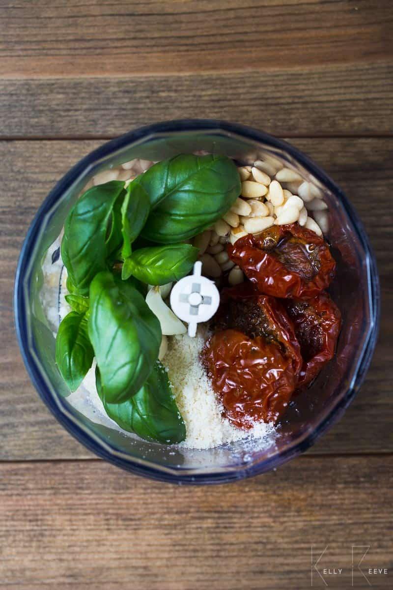 Ingredients Tomato Pesto