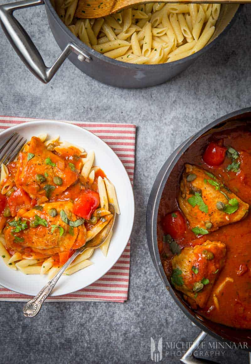 Chicken Cacciatore An Authentic Italian Chicken Recipe Your Family Will Love