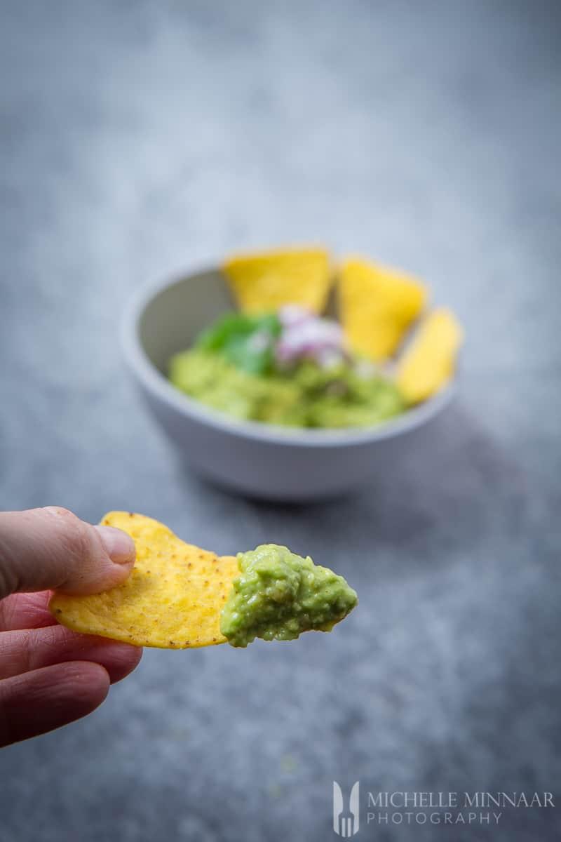 Tortilla Bite Guacamole