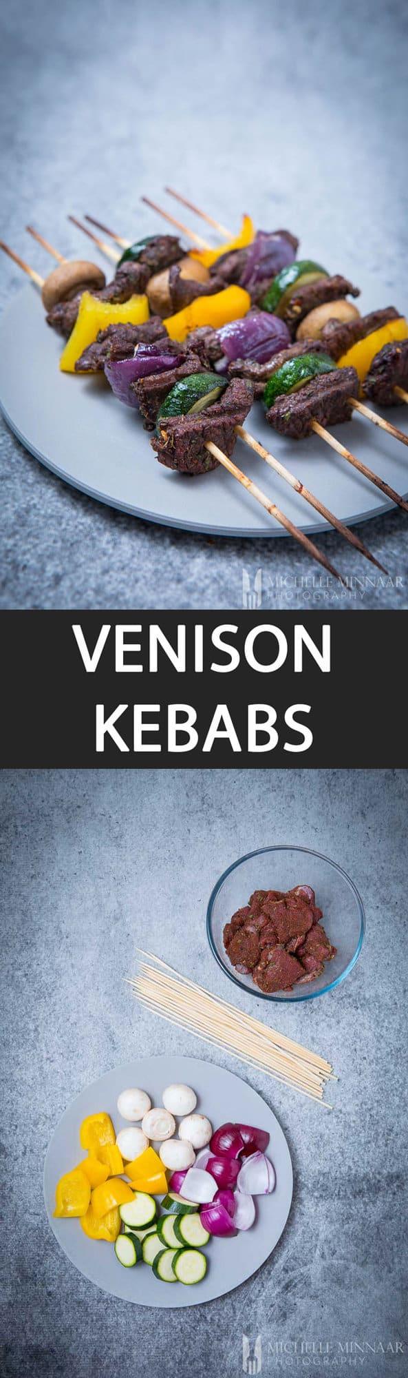 Venison Kebabs