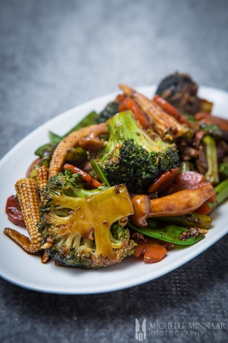 Chinese Mixed Vegetable Stir Fry