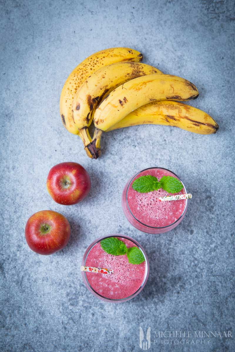 Apple Banana Cranberry Smoothie