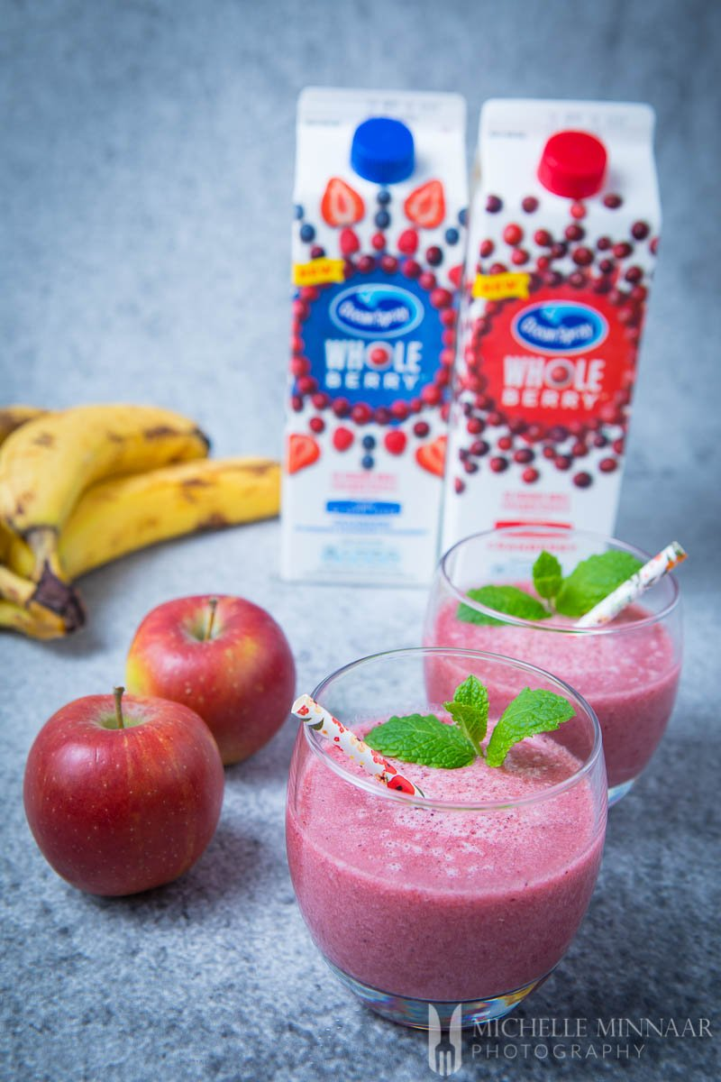 Oceanspray Cranberry Smoothie