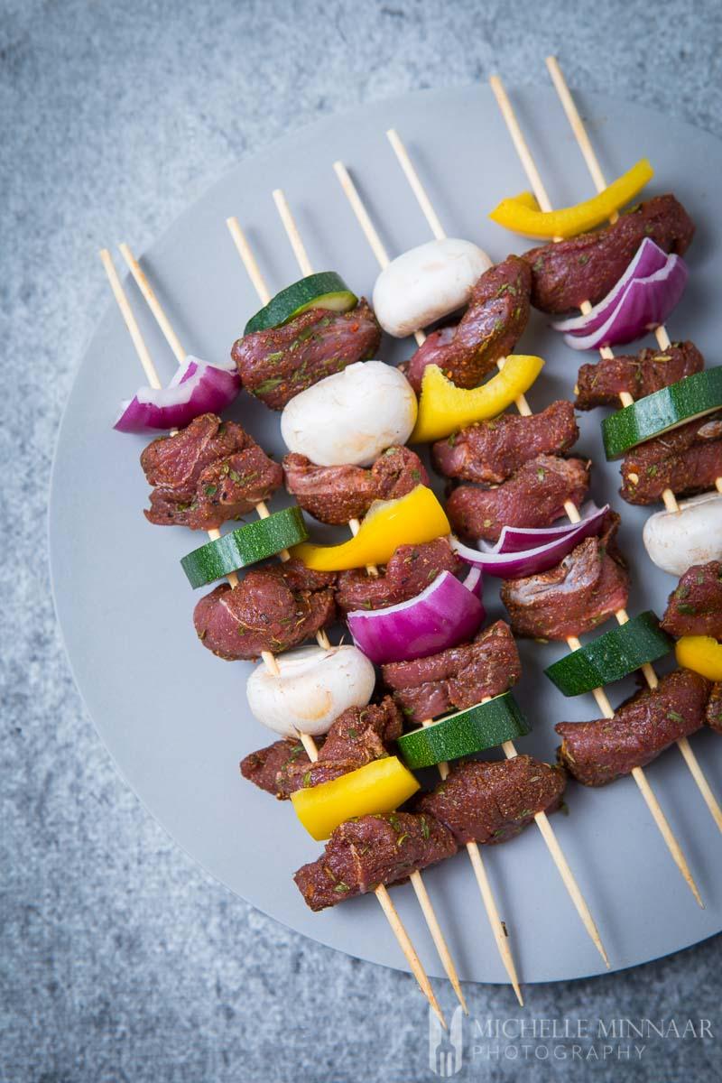 Bbq Venison Kebabs