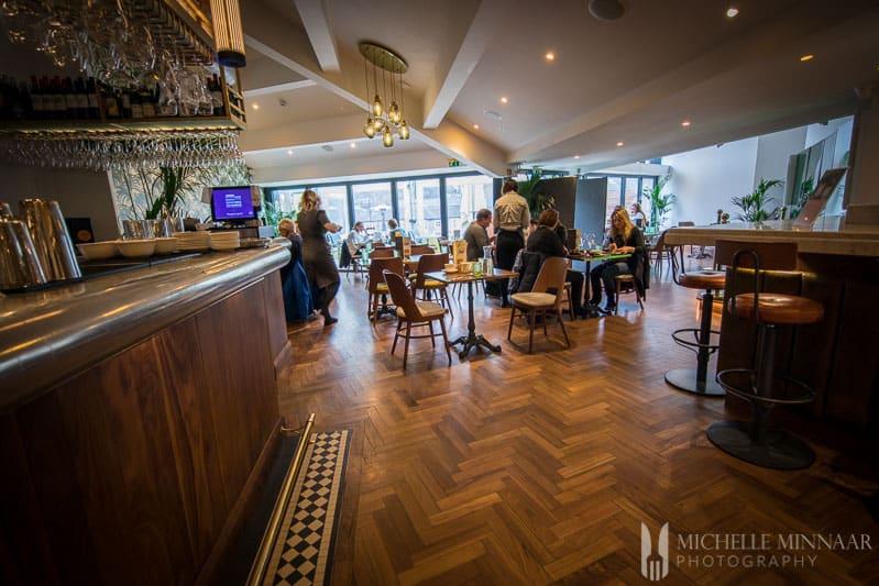 Interior Alexanders Restaurant