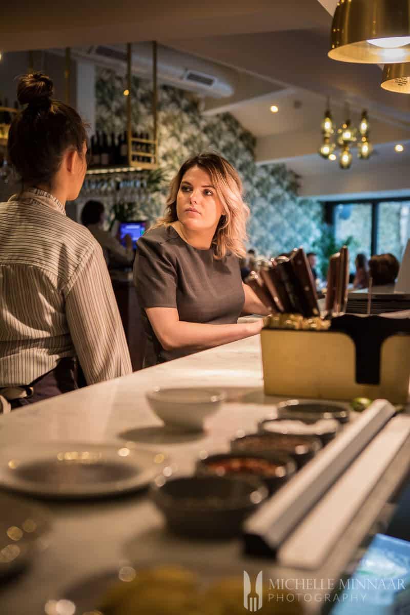 Waitress Alexanders