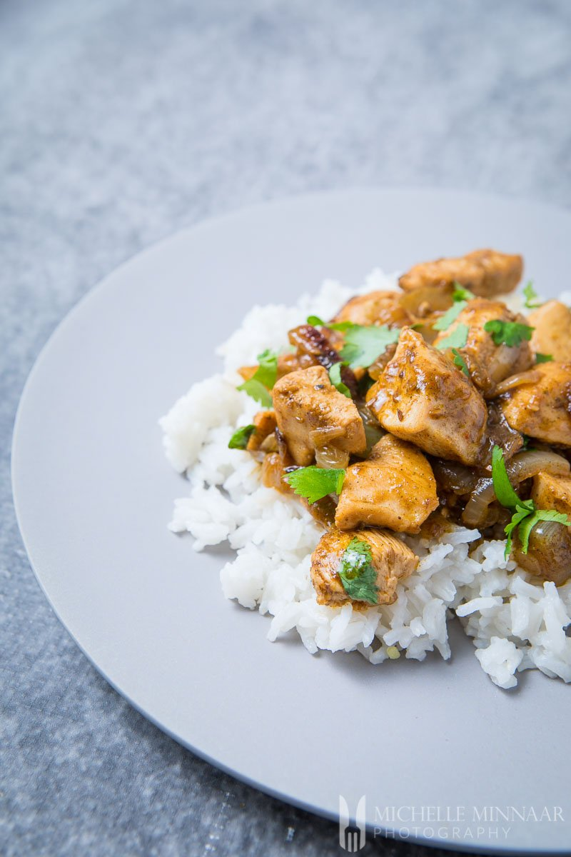 Rice Chicken Curry