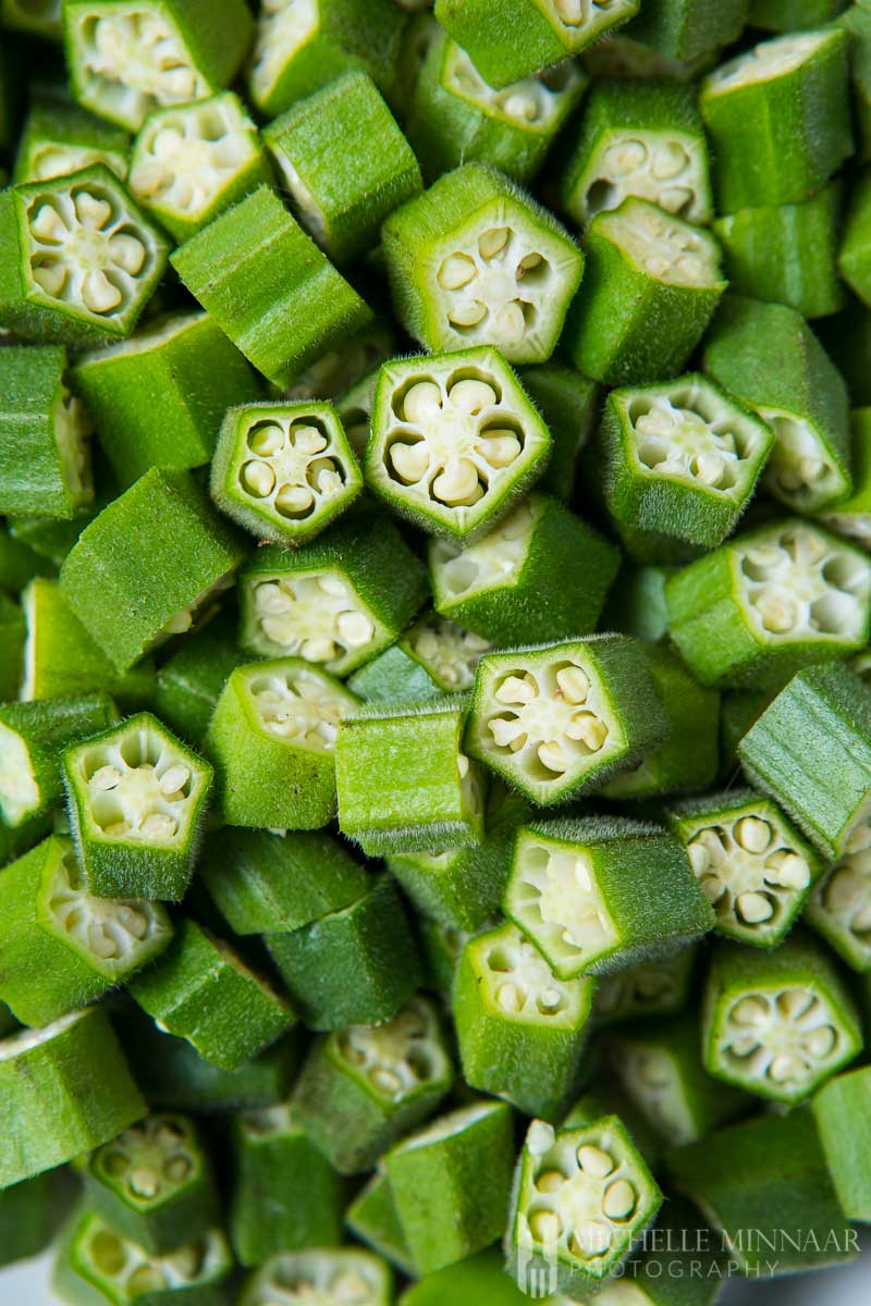 Okra Chopped