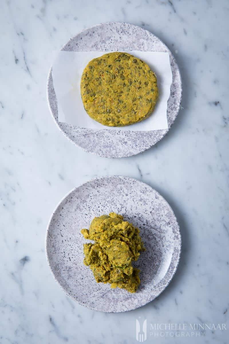 Mixture Lentil Falafel