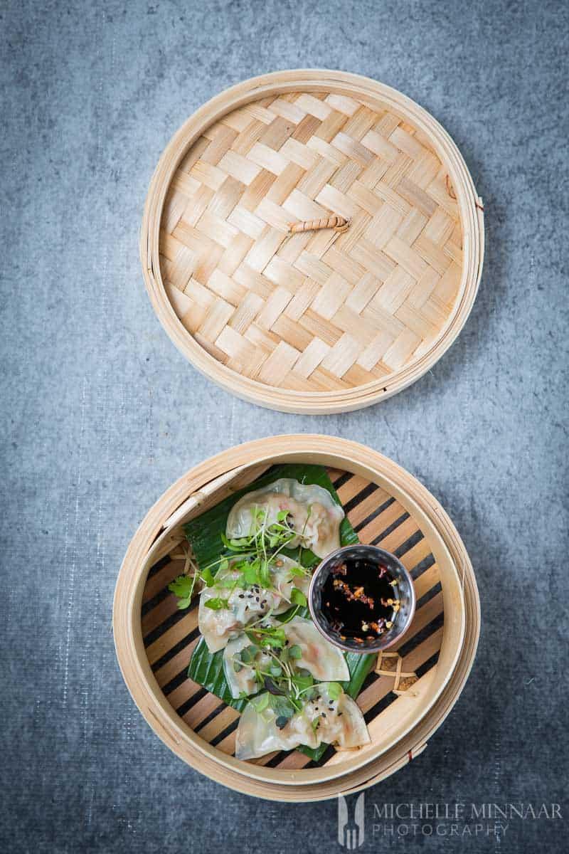 Basket Steamed Dumplings