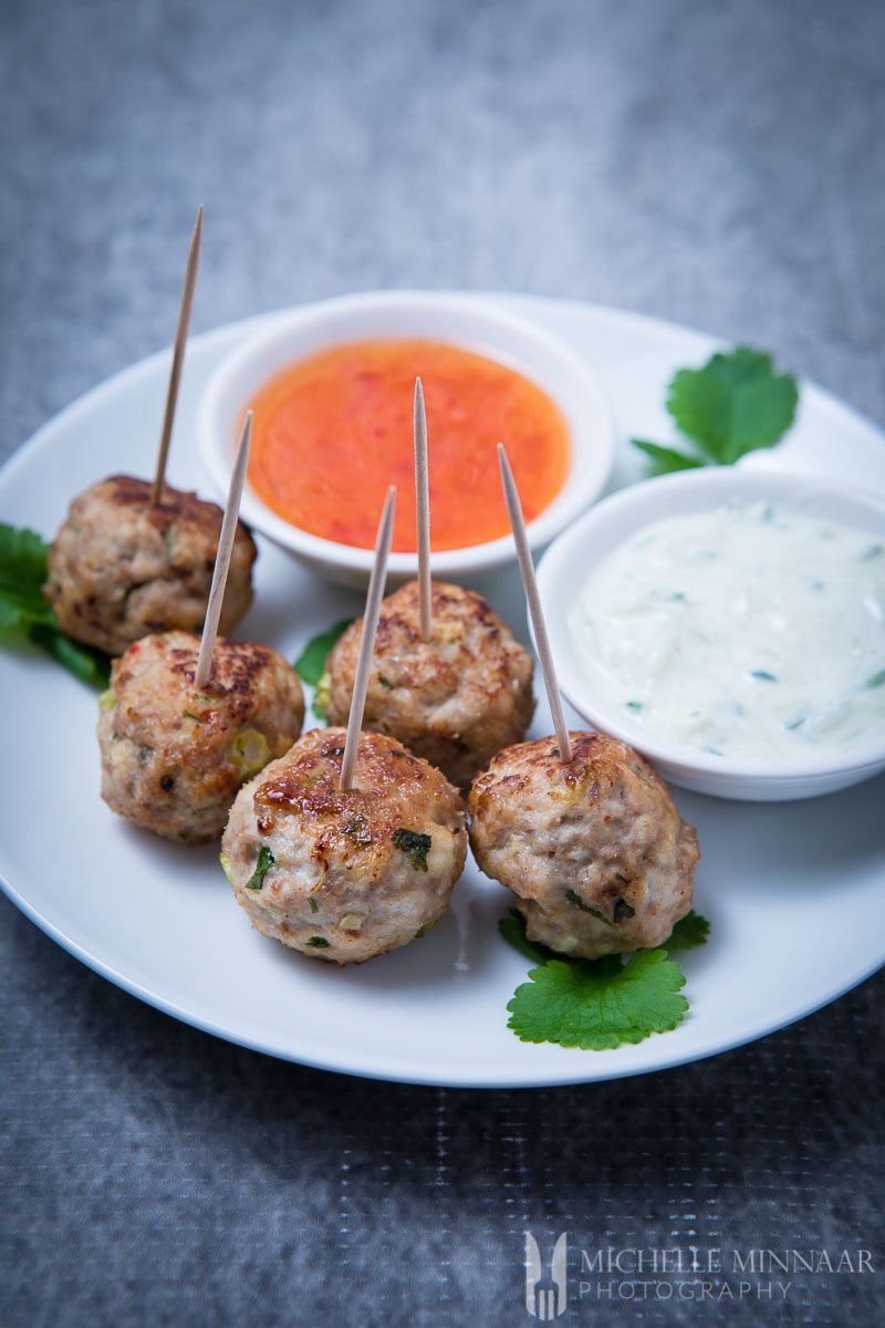 Thai Turkey Meatballs - put a new twist on the traditional ...