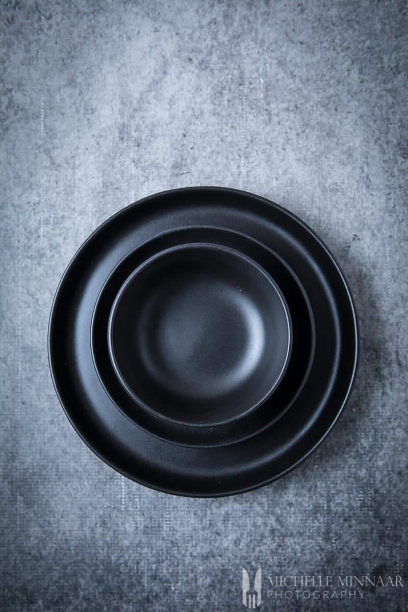 Bowls Blackplates