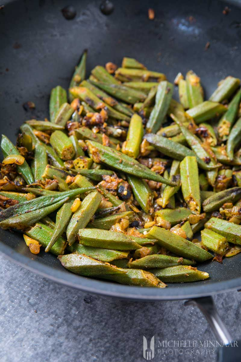 Fried Bhindi