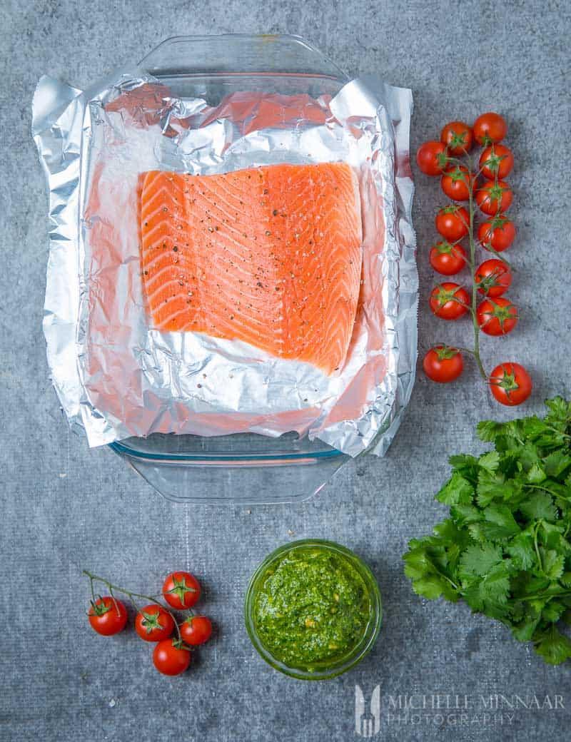 Tomato Salmon