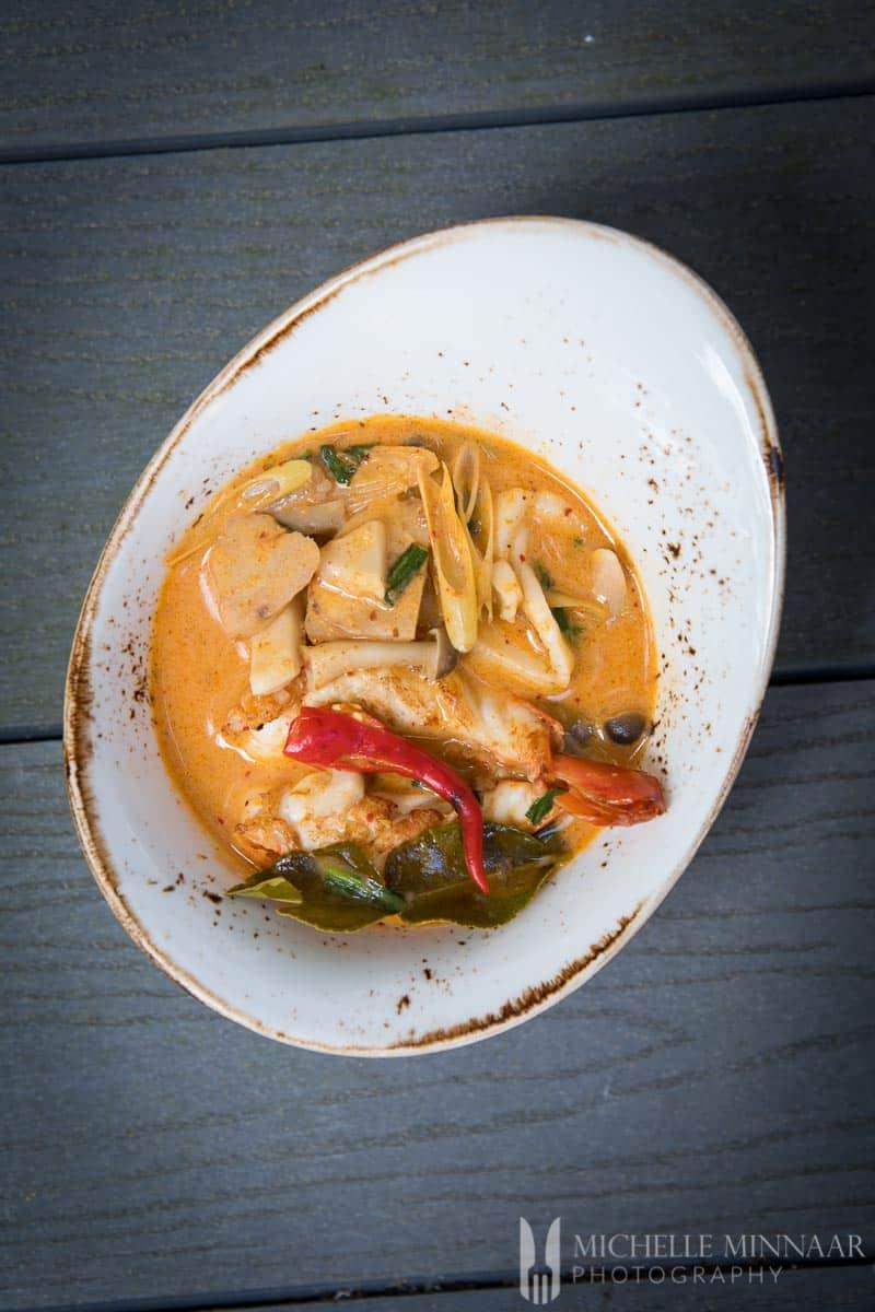 Thai Soup Spicy Coconut