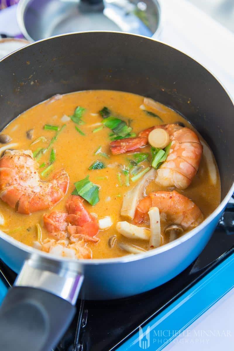Coconut Soup Thai Prawn