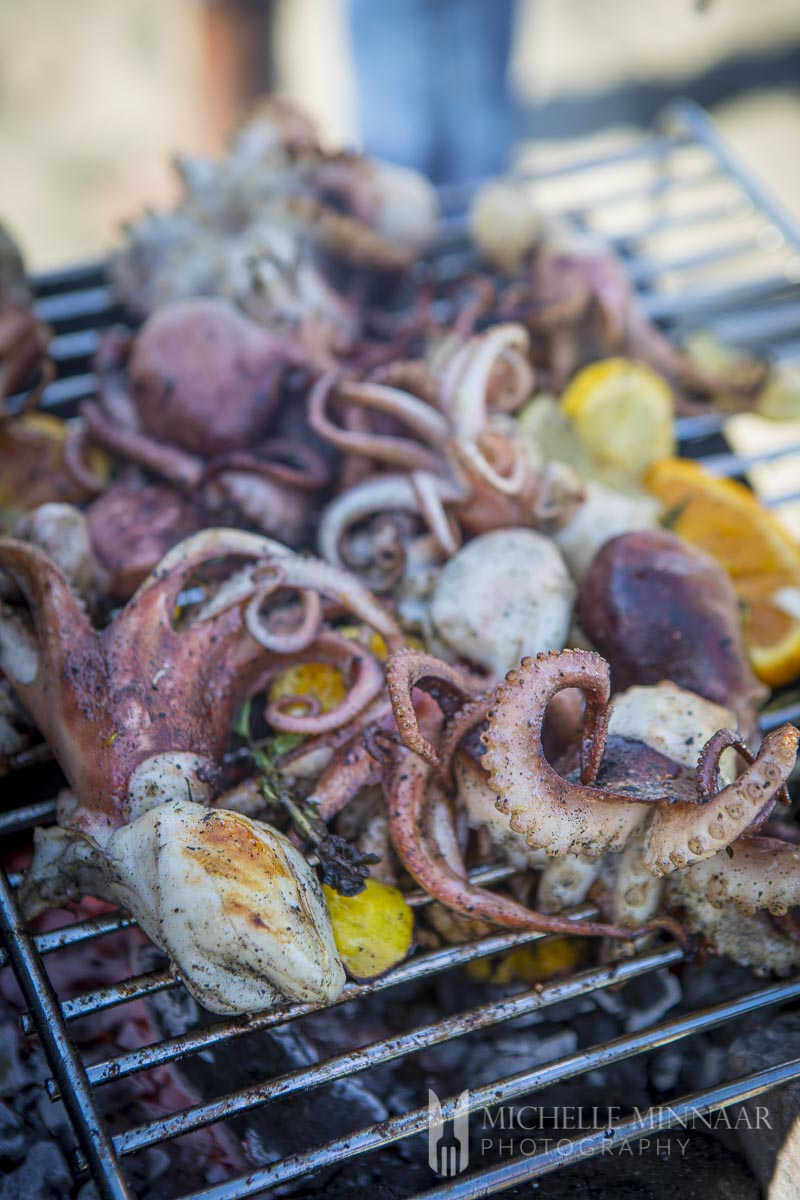 Octopus Salad - learn how to prepare Sicilian grilled ...