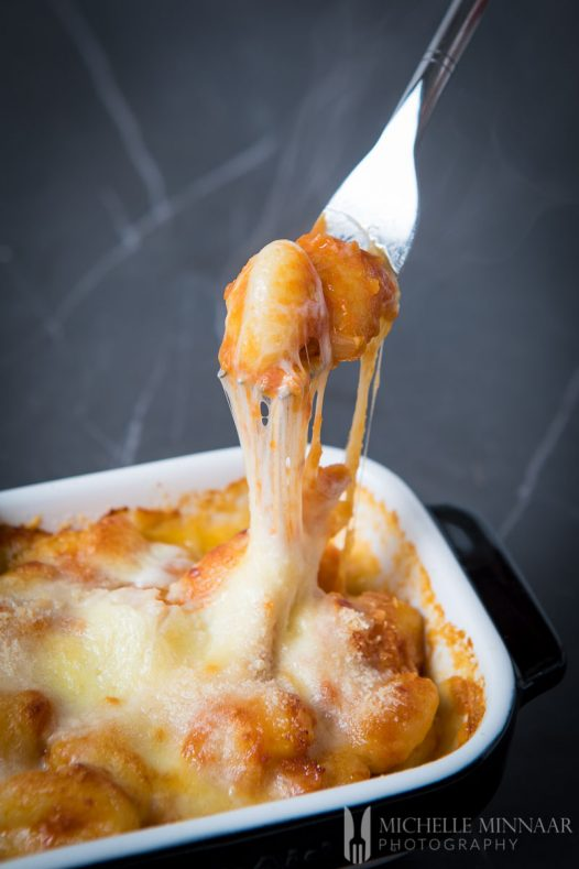 Baked Gnocchi Cheesy