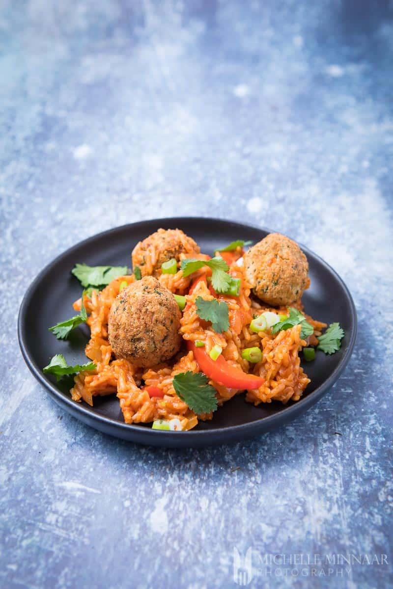 Jambalaya Falafel