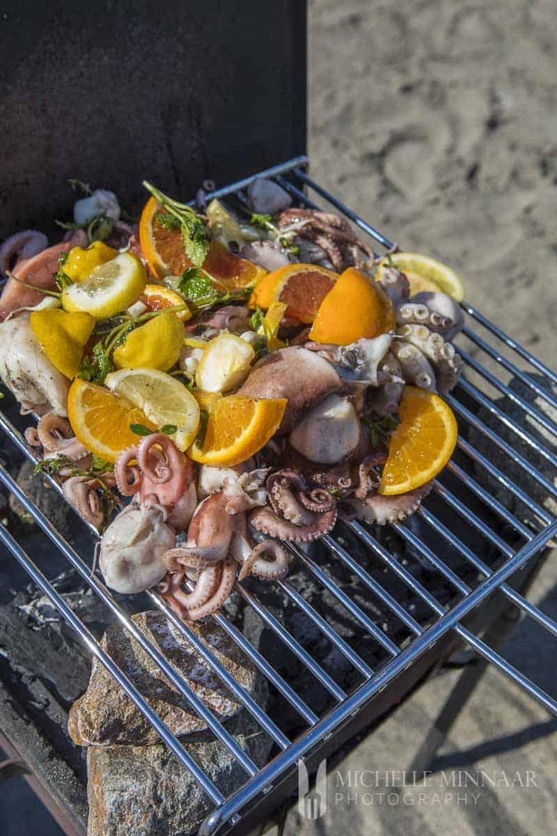 Orange Octopus Herbs