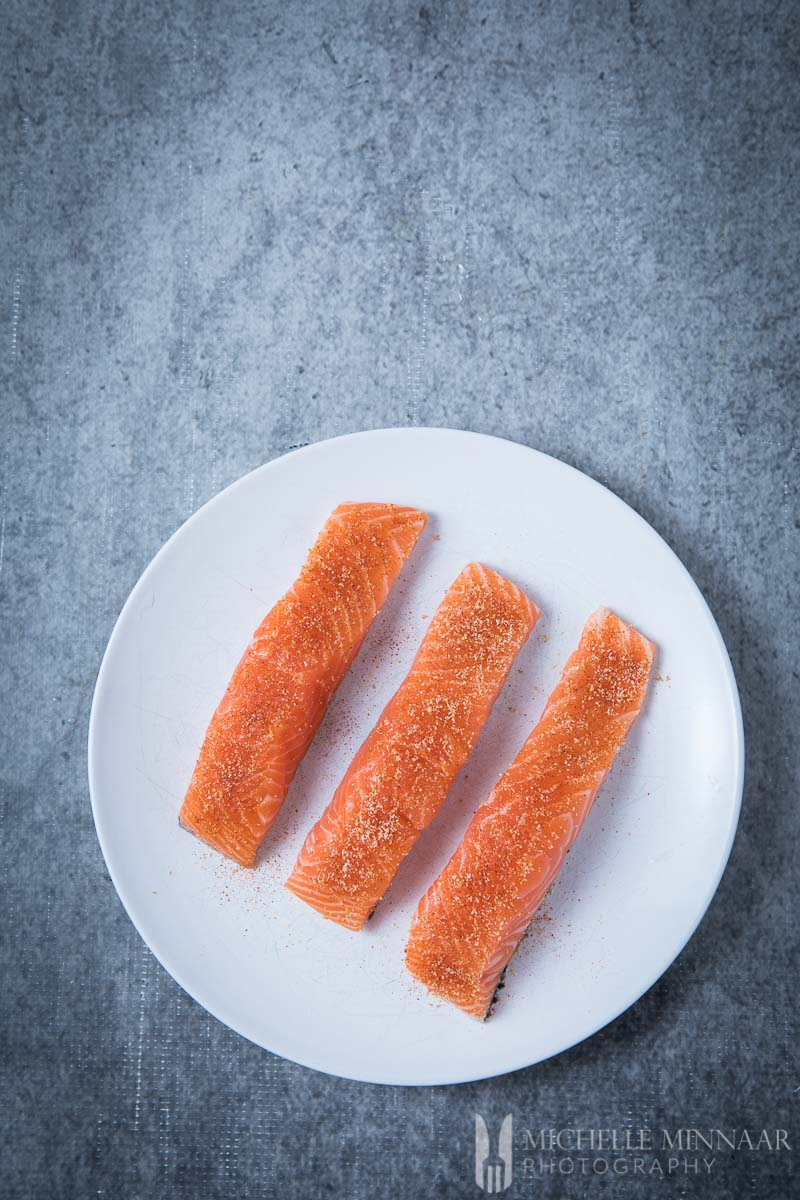 Salmon Fillets Raw
