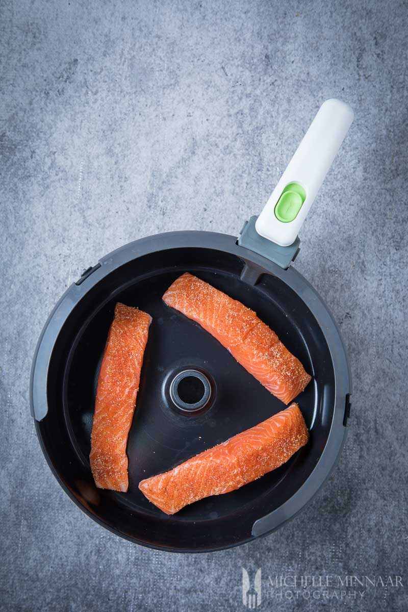 Container Salmon Airfryer