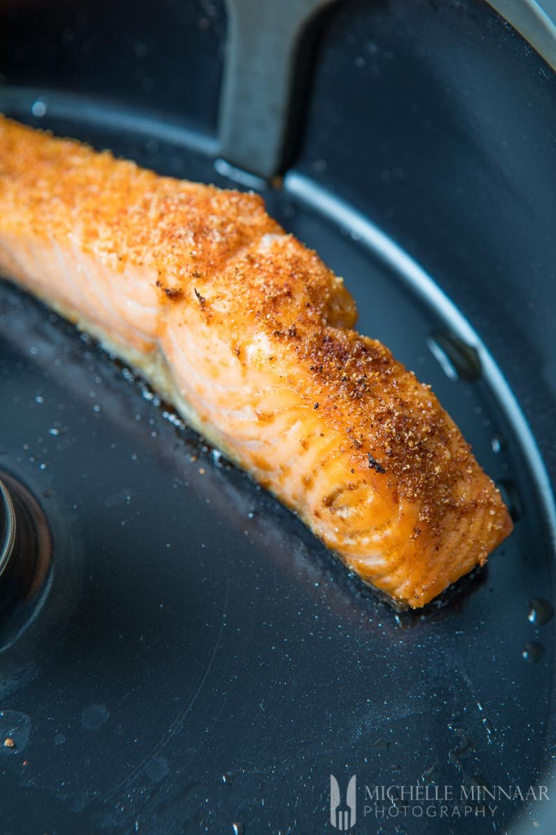 Airfried Salmon Spiced
