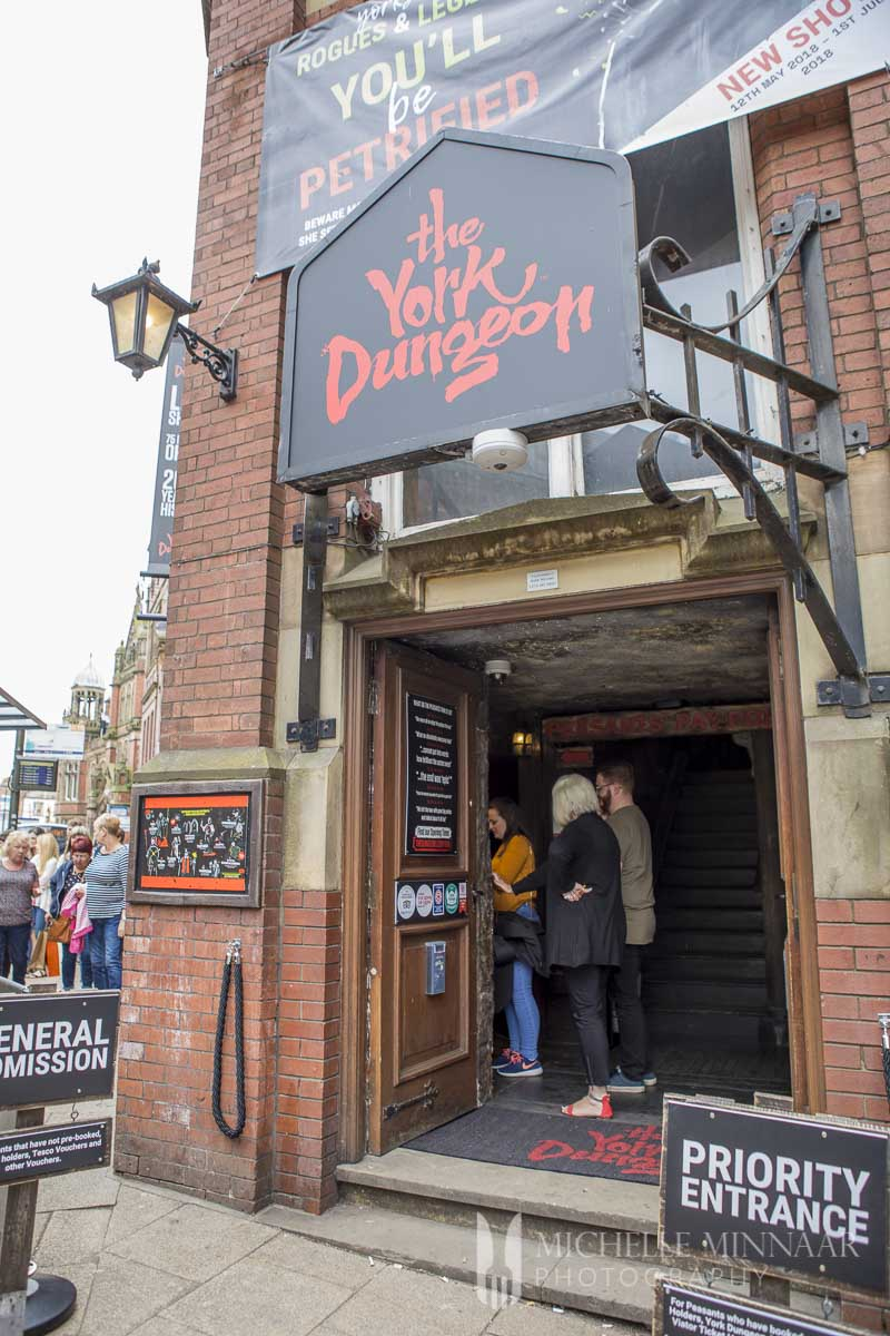 The exterior of the York Dungeon, one of the best things to do in York
