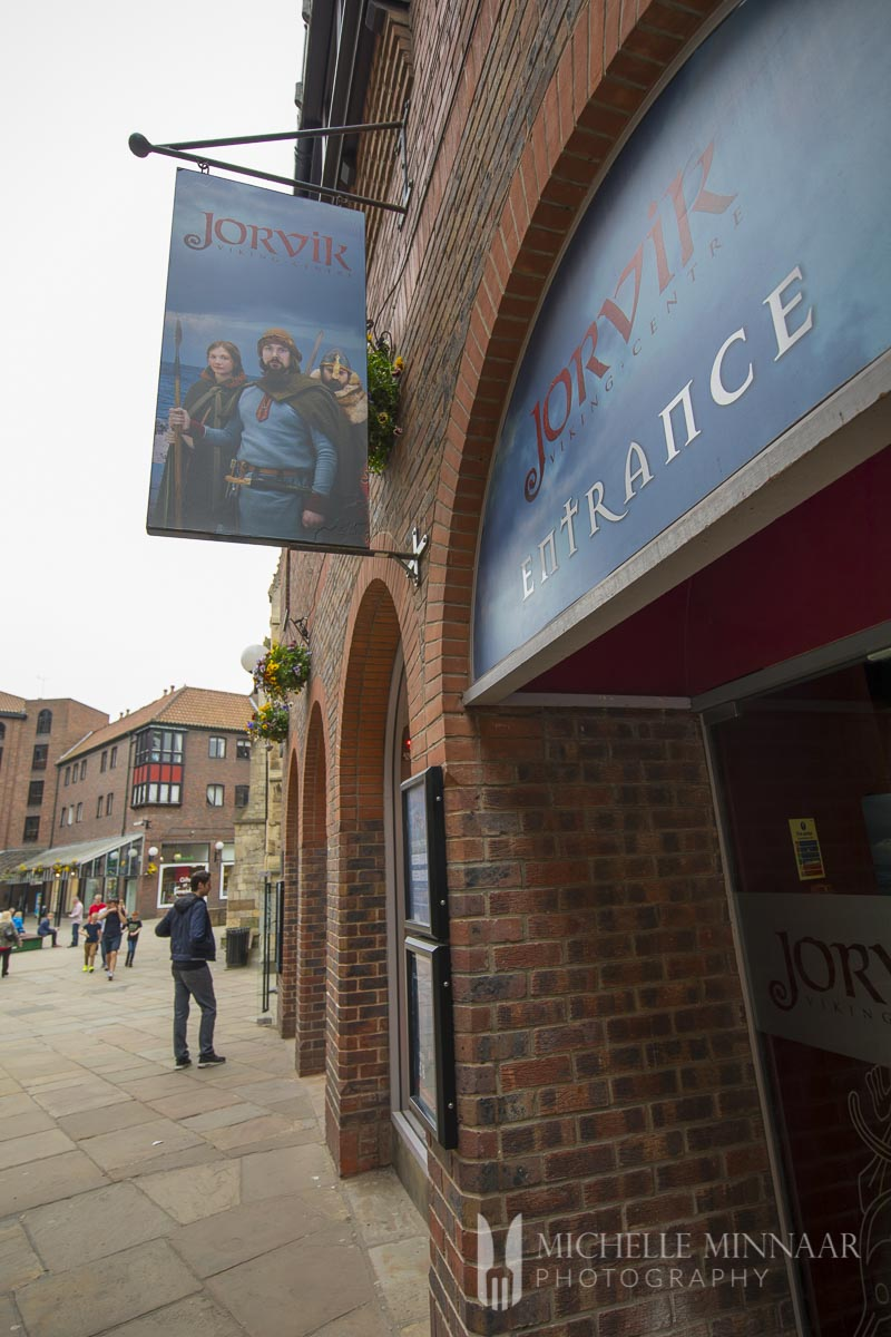 The outside of the Jorvik Musuem, one of the best things to do in York