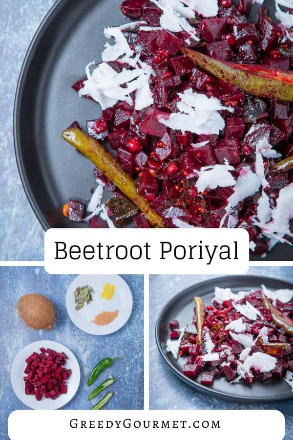 Beetroot Poriyal Pin