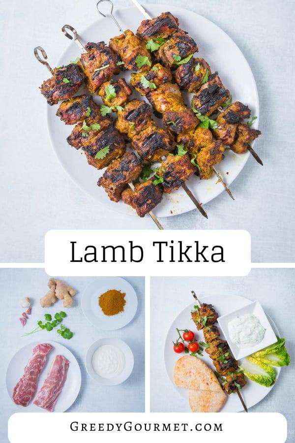 Lamb Tikka pin