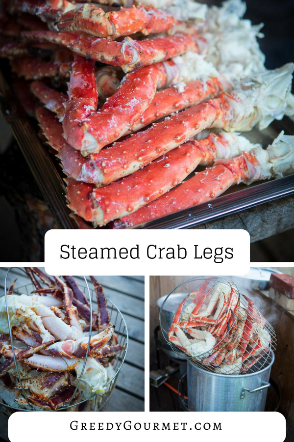steamed crab legs pin