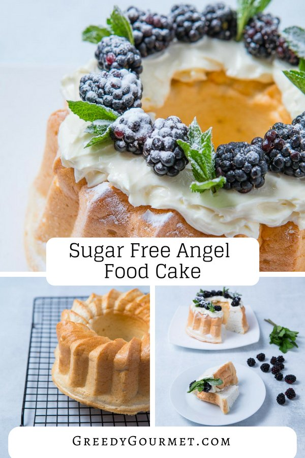 Sugar Free Angel Food Cake Pin