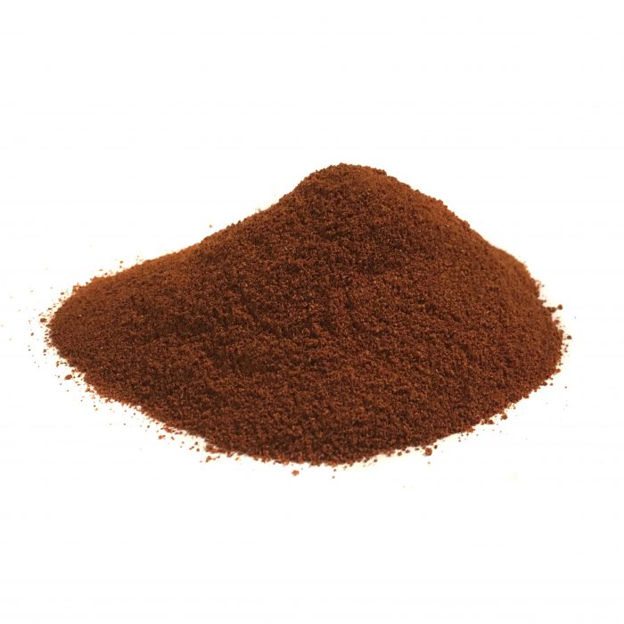 A pile of brown ancho powder as a paprika substitutes