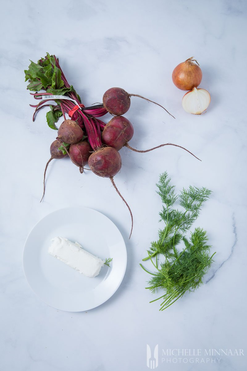 Goats Cheese Dill Beetroot