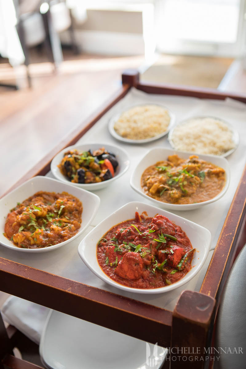 Indian dishes at at Bilash