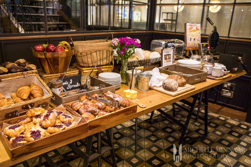 Breakfast Buffet at Hotel Indigo