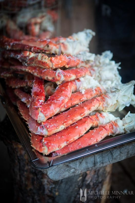 King Crab legs Steamed